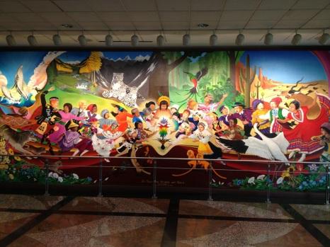 De Profetische Muurschildering 'Vrede en Harmonie met de Natuur'