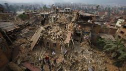 Parts of rural Nepal may be devastated.(AP Photo/Niranjan Shrestha)