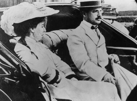 Benjamin Guggenheim with his wife